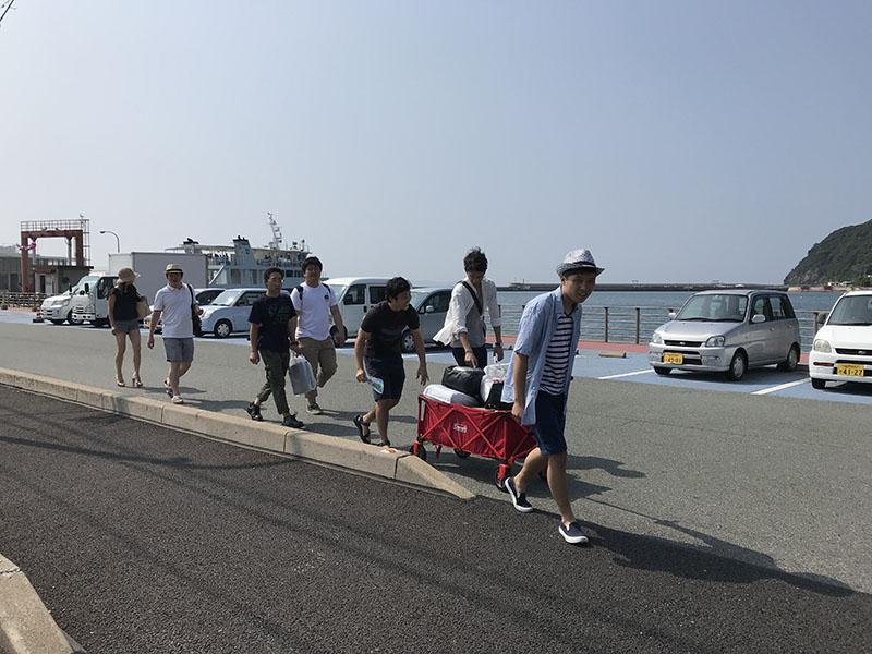 大島までの道のり