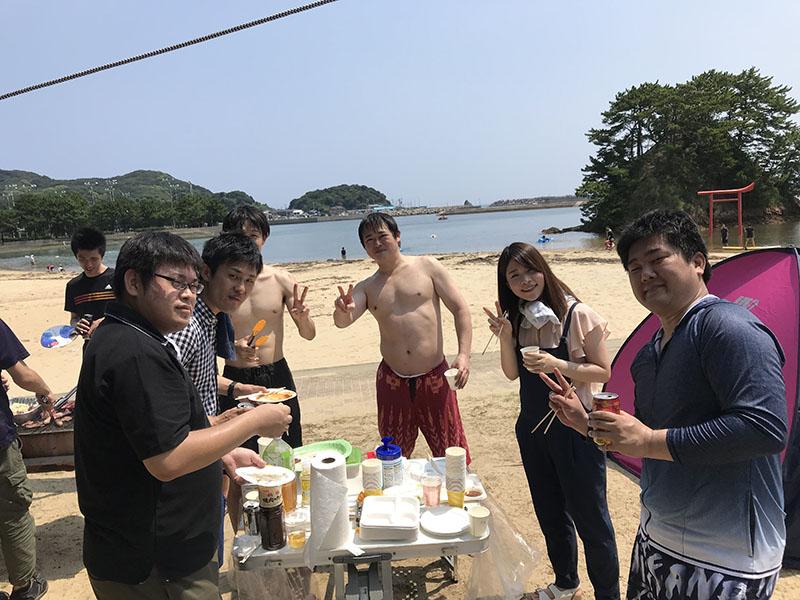 大島BBQ