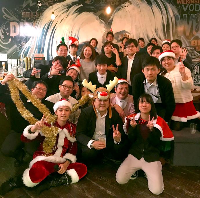 2018グローバルワークスクリスマスパーティー