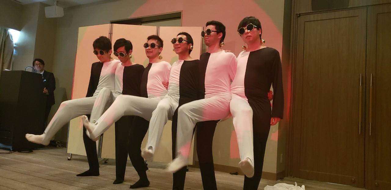 錯覚ダンス(披露宴余興)